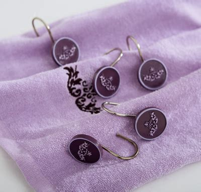 purple shower curtain hooks collections etc find unique online gifts at