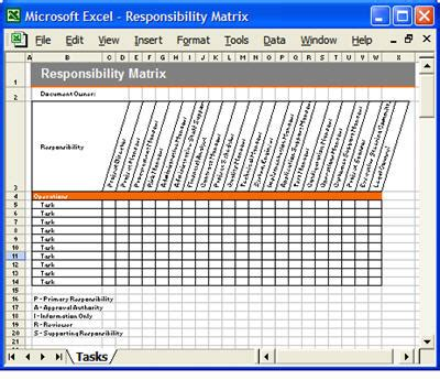 matrix template documentation plan template 28 page ms word