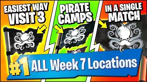 visit pirate camps   single match  fastest