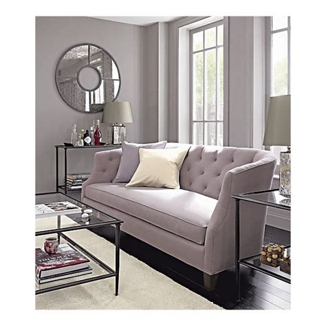 paint colors crate and barrel crate and barrel azure sofa in velvet home