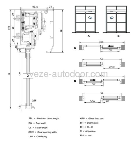 China Automatic Sliding Door Diagrams High Quality Sliding Glass Door Details