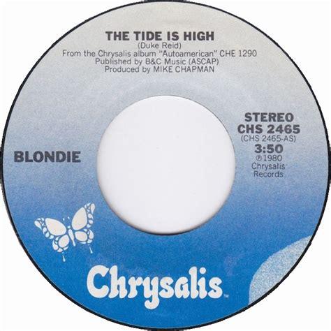 tide is high blondie us top 40 singles for the week ending january 31 1981
