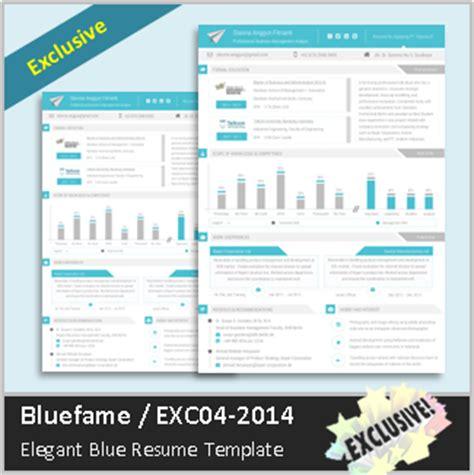 surat lamaran kerja bluefame contoh cv kreatif dan elegan