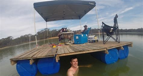how to build a homemade boat how to build your own party barge this summer