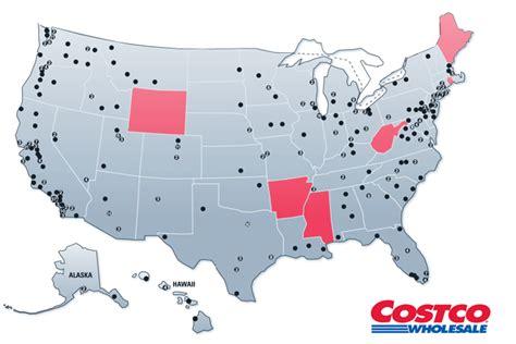 costco locations map usa costco locations