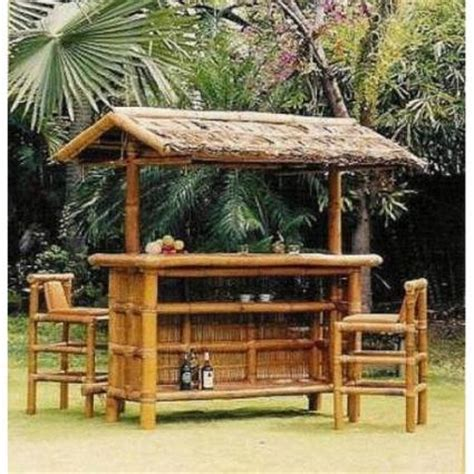 Backyard Tiki Bar Sets by Build Your Own Tiki Bar Lovetoknow