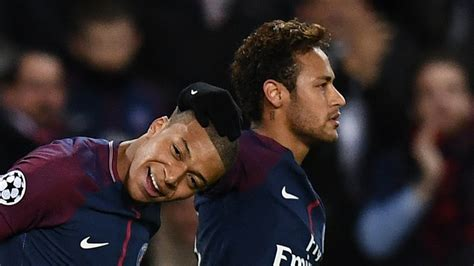 kylian mbappe and neymar mbappe credits neymar for psg integration