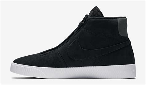 shoes no laces nike blazer advanced no laces 859200 001 sole collector