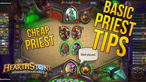 cheap priest deck hearthstone hearthstone basic priest mechanics priest tips quot cheap