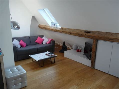 Appartement cosy sous les toits parisiens   Décoratrice d