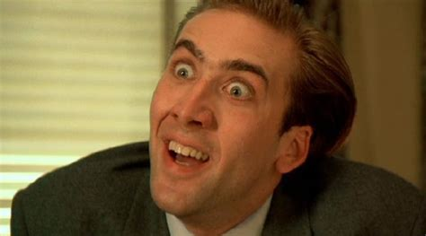 what films has nicolas cage been in fearless nicolas cage s most manic roles in focus by
