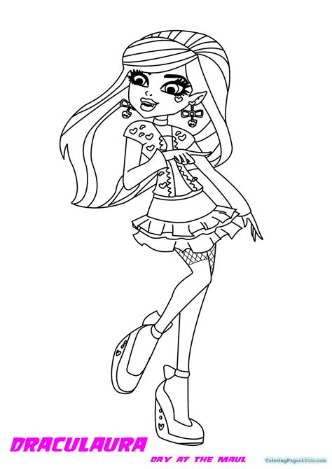 Monster High Coloring Pages Gigi Coloring Pages For Kids High Gigi Coloring Pages