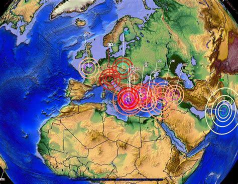earthquake europe 4 24 2016 earthquake progression proved across asia