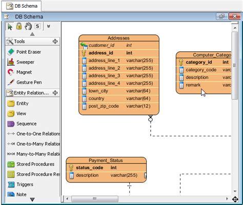 membuat erd dengan visual paradigm reverse database without overwritting entities visual