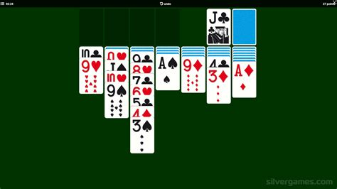 solitaire play solitaire   silvergames