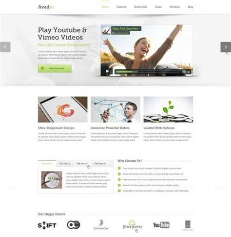 avada theme portfolio shortcode more than 30 best wordpress themes 2014 edition