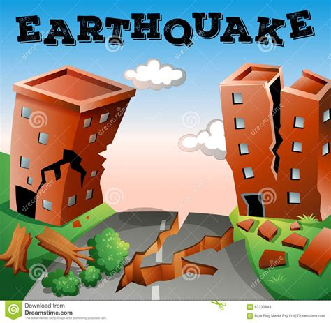 114  After Earthquake Clipart