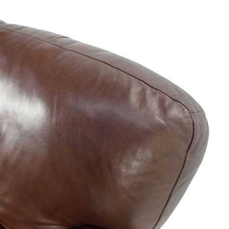 roll arm leather sofa 50 brown roll arm leather loveseat sofas