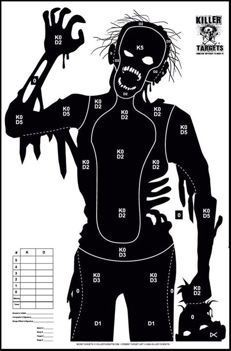 printable zombie face targets free online printable shooting targets zombies and toys