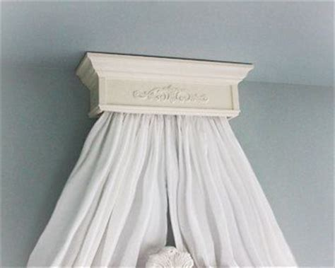 Crib Canopy Crown by Bed Crown Canopy Crib Crown Ceiling Mount By