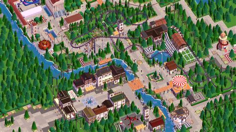 theme park builder parkitect the rather excellent theme park builder has a
