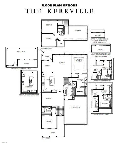 David Weekly Floor Plans by Rivertown Model David Weekley Homes The Kerrville The