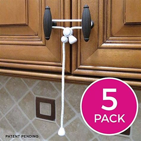 kitchen cabinet child locks kiscords baby safety cabinet locks for knobs child safety
