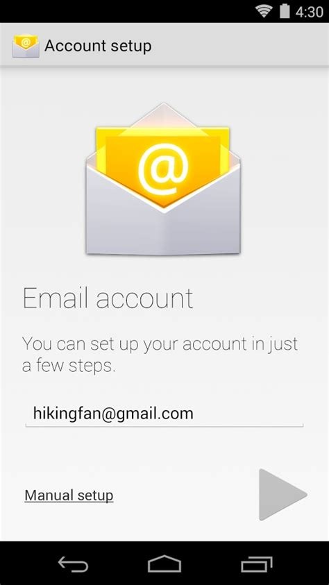 android email standaard android email app nu ook in play