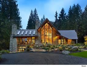 homes in the mountains mountain home style spotlight