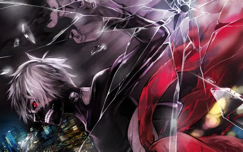 wallpaper anime kaneki ken as a ghoul tokyo ghoul gif 92148 fragile wallpaper and background 1280x800 id 539381