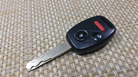 change key fob combo key battery honda civic accord pilot odyssey insight fit  button