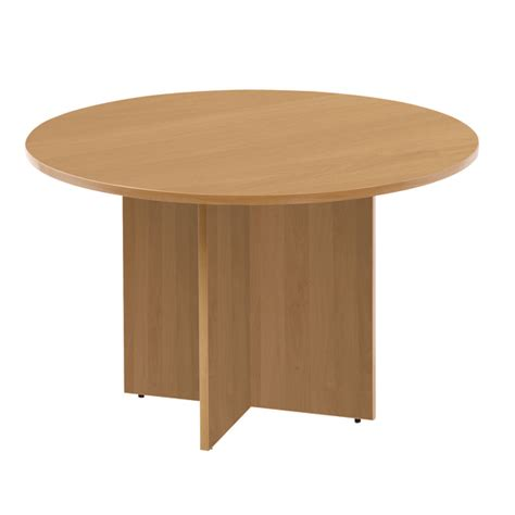 Oak Meeting Table Arista Oak 1200mm Meeting Table Kf72049