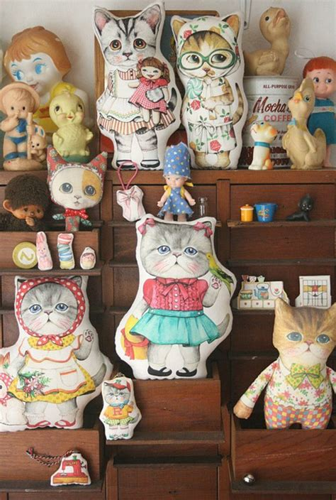 Cat Doll by 1000 Images About Kitsch On