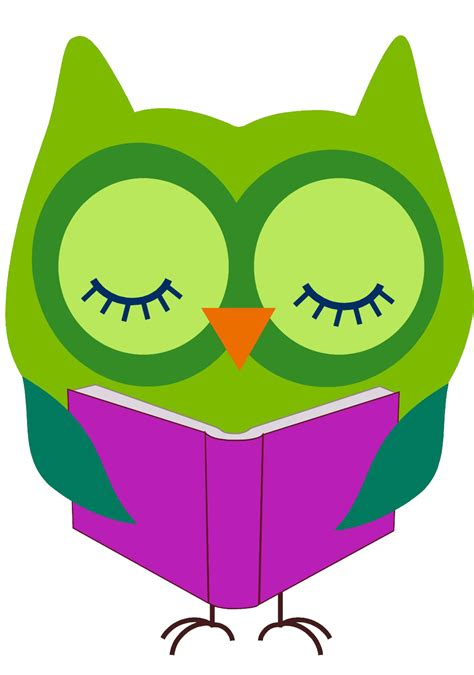 reading clip reading clipart search library clipart owl