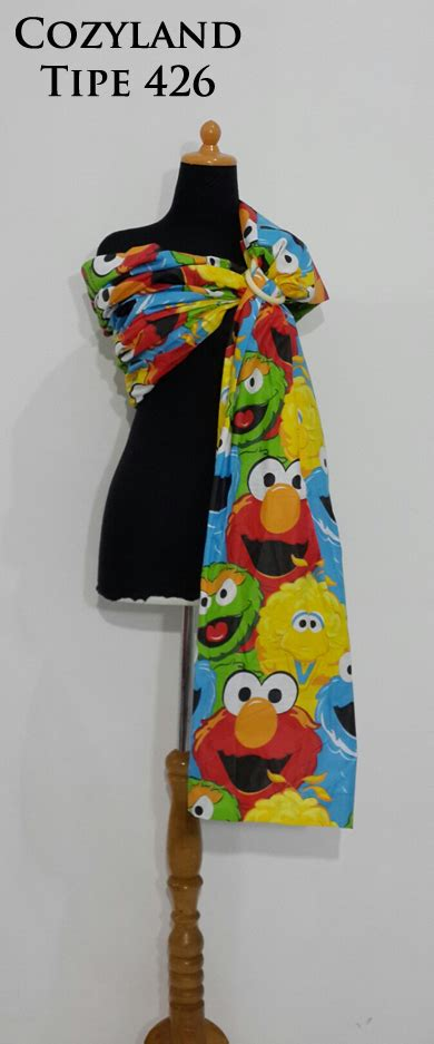 Pouch Jakarta Nih gendongan baby sling ring cozyland dijamin nyaman dan