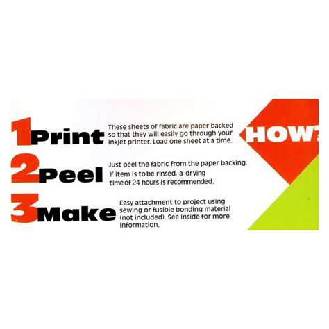 jacquard printable fabric sheets jacquard printable inkjet fabric sheets8 5 quot x 11 quot 10 sheets
