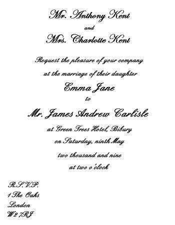 wedding invitations divorced parents wedding invitation wording etiquette