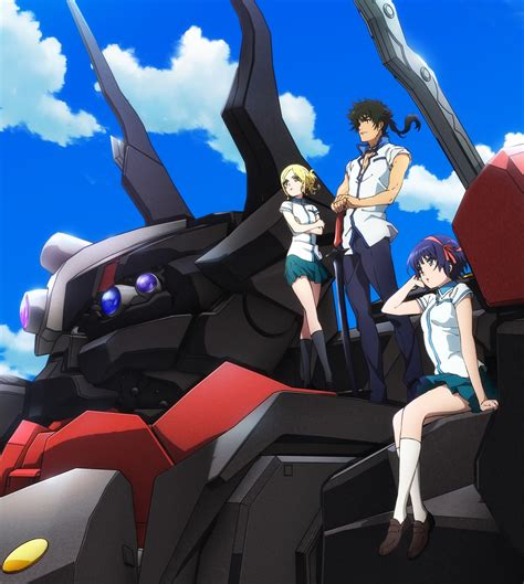 anime mecha the robros kuromukuro new mecha anime