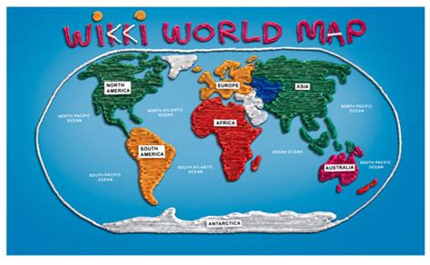 the world crafts for world map