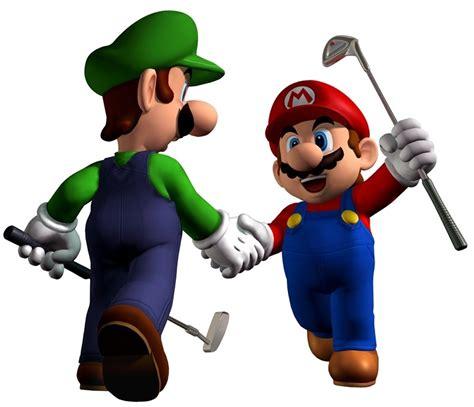 mario luigi images mario luigi golfing hd wallpaper background photos 9298222
