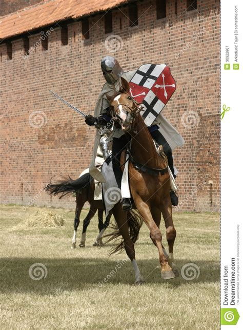 knight  horse stock image image  armor historic