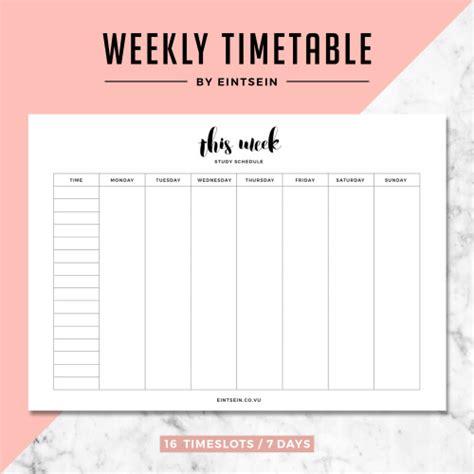printable weekly planner studyblr aureliep