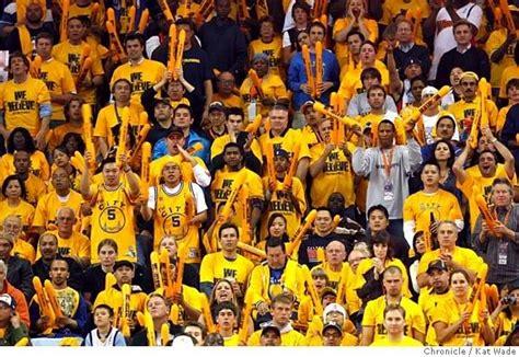 golden state warriors fans golden state warriors playoff pep from a fan s