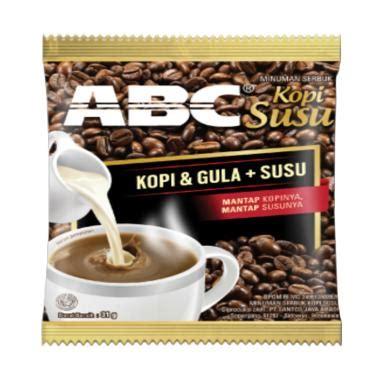 Abc Kopi Bag jual abc kopi sachet harga kualitas terjamin blibli