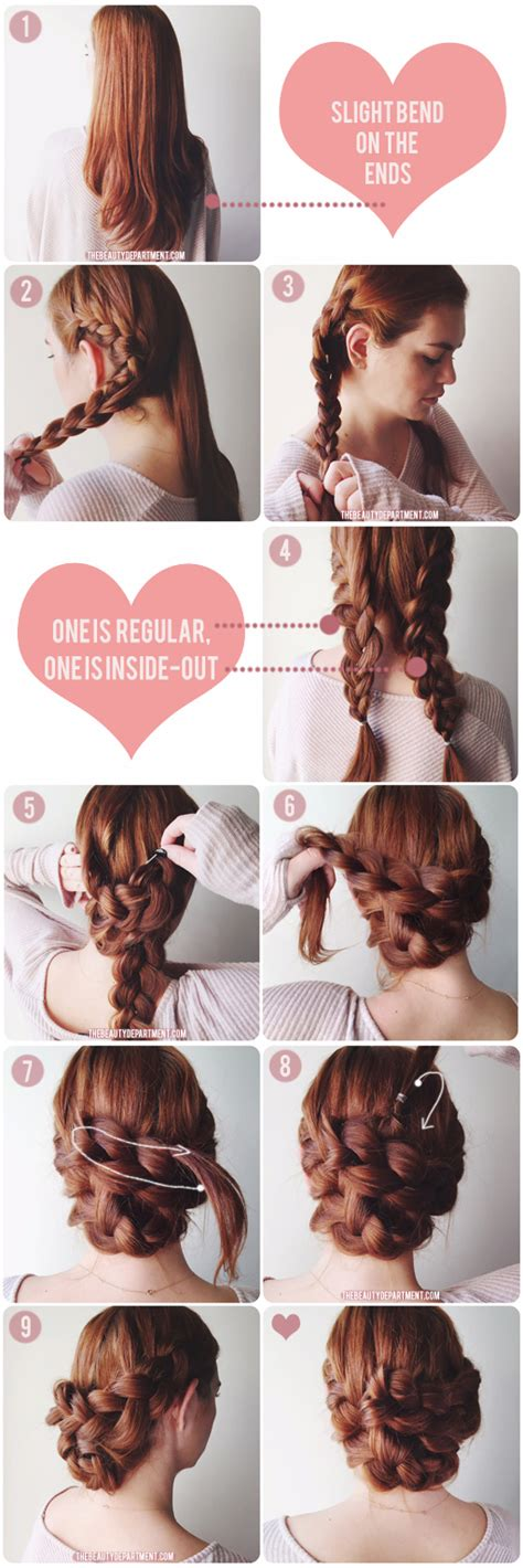Quick Easy Hairstyle by Quick Easy Bridesmaid Hair 1 The Beauty Department