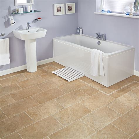 vinyl plank in bathroom karndean knight tile bath stone