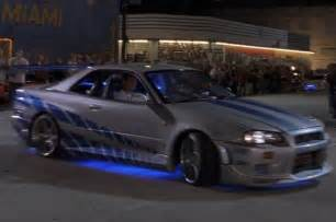 Fast And Furious Skyline Interior Top 10 Cars From Quot The Fast And The Furious Quot Movies Photo