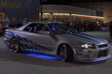 nissan skyline fast and furious top 10 cars from quot the fast and the furious quot movies photo
