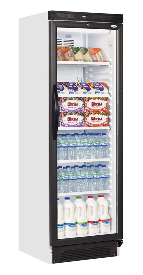 glass door drinks fridge sc381 single glass door upright drink display cooler