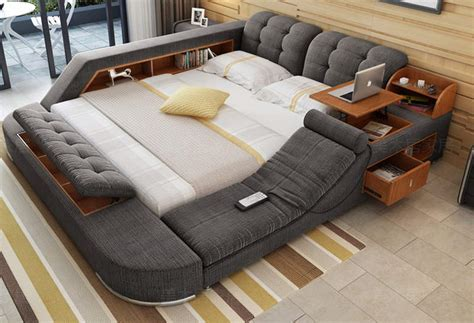 tatami bed tatami multimedia bed has built in massage chair and pop